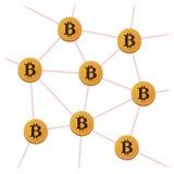 Χρήματα Bitcoin ανοικτός-πηγής Στοκ φωτογραφία με δικαίωμα ελεύθερης χρήσης