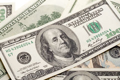 χρήματα franklin στοκ φωτογραφία