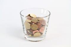 χρήματα glas Στοκ Εικόνες