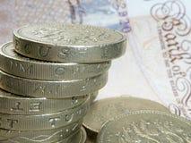 χρήματα UK στοκ εικόνες