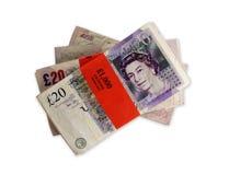χρήματα UK Στοκ φωτογραφία με δικαίωμα ελεύθερης χρήσης