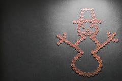 Χρήματα Winterly Στοκ Εικόνες