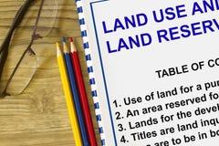 Χρήση γης στοκ εικόνες