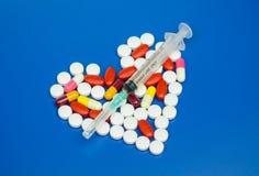 Χρήση ιατρικής Στοκ εικόνες με δικαίωμα ελεύθερης χρήσης