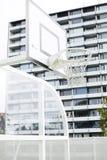 χρήση καλαθοσφαίρισης καλαθιών ανασκόπησης Στοκ Φωτογραφίες