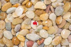 Χρήση πετρών χαλικιών για το υπόβαθρο και τη σύσταση Στοκ φωτογραφία με δικαίωμα ελεύθερης χρήσης