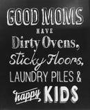 Χρήσιμες άκρες για την καλή μητέρα στοκ εικόνες