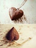 χρήσιμοι βαλεντίνοι μηνυμάτων αγάπης καρδιών ημέρας ημερομηνιών επετείων grunge Στοκ φωτογραφία με δικαίωμα ελεύθερης χρήσης