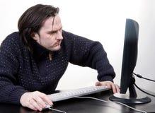χρήστης υπολογιστή Στοκ Εικόνες