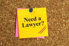 Χρειαστείτε ένα μήνυμα δικηγόρων στοκ φωτογραφία με δικαίωμα ελεύθερης χρήσης