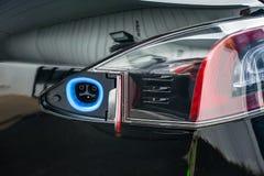 Χρεώνοντας αυτοκίνητο Eletric λιμένων στοκ φωτογραφίες με δικαίωμα ελεύθερης χρήσης