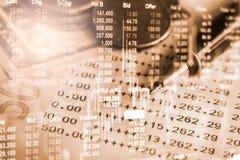 Χρηματιστήριο ή γραφική παράσταση εμπορικών συναλλαγών Forex και διάγραμμα κηροπηγίων suitab Στοκ εικόνα με δικαίωμα ελεύθερης χρήσης