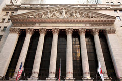 Χρηματιστήριο Αξιών της Νέας Υόρκης Στοκ Φωτογραφίες