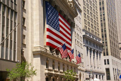 Χρηματιστήριο Αξιών της Νέας Υόρκης Στοκ Φωτογραφία