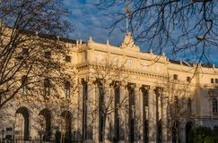 Χρηματιστήριο αποκαλούμενο κτήριο Bolsa de Μαδρίτη της Μαδρίτης Στοκ φωτογραφία με δικαίωμα ελεύθερης χρήσης