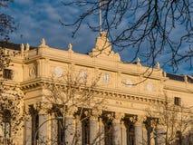 Χρηματιστήριο αποκαλούμενο κτήριο Bolsa de Μαδρίτη της Μαδρίτης Στοκ εικόνες με δικαίωμα ελεύθερης χρήσης