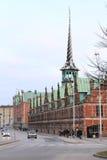 Χρηματιστήριο στην Κοπεγχάγη Στοκ Εικόνες