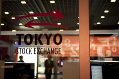 Χρηματιστήριο του Τόκιο Στοκ εικόνα με δικαίωμα ελεύθερης χρήσης