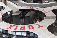 Χρηματιστήριο του Τόκιο (TSE) Στοκ Εικόνες