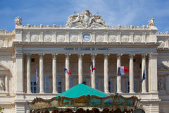 Χρηματιστήριο et Chambre de Commerce Μασσαλία, Γαλλία Στοκ φωτογραφία με δικαίωμα ελεύθερης χρήσης