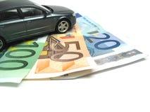 χρηματοδότηση αυτοκινήτ&omega Στοκ Φωτογραφία
