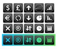 χρηματοδότηση κουμπιών Στοκ φωτογραφία με δικαίωμα ελεύθερης χρήσης