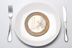 χρηματοδότηση προϋπολογ&io Στοκ Εικόνα
