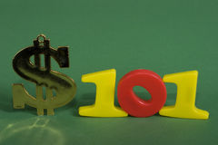 χρηματοδότηση 101 Στοκ εικόνες με δικαίωμα ελεύθερης χρήσης