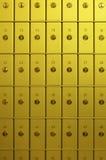 χρηματοκιβώτια τραπεζών s Στοκ Φωτογραφίες