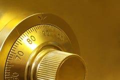 χρηματοκιβώτιο κλειδωμάτων συνδυασμού Στοκ Εικόνες