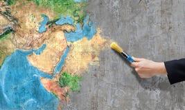 Χρηματοκιβώτιο ο πλανήτης μας Στοκ Εικόνες
