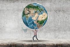 Χρηματοκιβώτιο ο πλανήτης Στοκ φωτογραφία με δικαίωμα ελεύθερης χρήσης