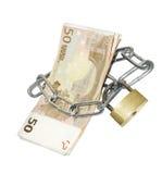 χρηματοκιβώτιο χρημάτων Στοκ εικόνες με δικαίωμα ελεύθερης χρήσης