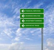 Χρηματοπιστωτικές υπηρεσίες στοκ εικόνες