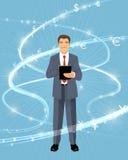 Χρηματοδότης και οικονομικές ροές Ελεύθερη απεικόνιση δικαιώματος