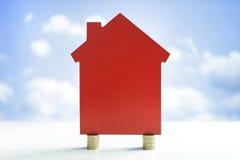 Χρηματοδότηση σπιτιών στοκ φωτογραφία με δικαίωμα ελεύθερης χρήσης