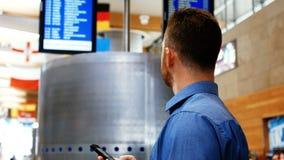 Χρησιμοποίηση ατόμων κινητή εξετάζοντας το σύστημα επίδειξης πληροφοριών πτήσης απόθεμα βίντεο