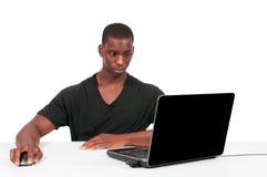 χρησιμοποίηση ατόμων υπολογιστών Στοκ Φωτογραφία