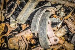 Χρησιμοποιημένα μέρη για την επισκευή του εξοπλισμού Στοκ φωτογραφία με δικαίωμα ελεύθερης χρήσης