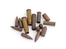 Χρησιμοποιημένες σφαίρες   Στοκ Φωτογραφία