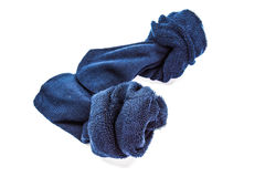 Χρησιμοποιημένη βρώμικη κάλτσα Στοκ φωτογραφία με δικαίωμα ελεύθερης χρήσης