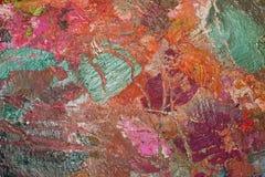 Χρησιμοποιημένη παλέτα των χρωμάτων για το υπόβαθρο για τη σύσταση Στοκ εικόνες με δικαίωμα ελεύθερης χρήσης