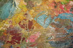 Χρησιμοποιημένη παλέτα των χρωμάτων για το υπόβαθρο Στοκ Εικόνες