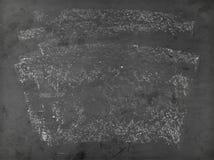 Χρησιμοποιημένος πίνακας κιμωλίας Στοκ φωτογραφία με δικαίωμα ελεύθερης χρήσης