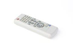 Χρησιμοποιημένος τηλεχειρισμός TV που απομονώνεται στο λευκό Στοκ φωτογραφία με δικαίωμα ελεύθερης χρήσης