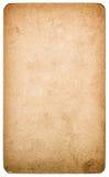 Χρησιμοποιημένο κατασκευασμένο χαρτόνι εγγράφου που απομονώνεται Αντικείμενο λευκώματος αποκομμάτων στοκ φωτογραφία με δικαίωμα ελεύθερης χρήσης