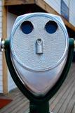 Χρησιμοποιημένο νόμισμα τηλεσκόπιο διοπτρών Στοκ εικόνα με δικαίωμα ελεύθερης χρήσης