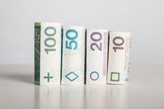 Χρησιμοποιώντας τα χρήματα - πόροι χρηματοδότησης - δάνειο - Πολωνία Στοκ φωτογραφία με δικαίωμα ελεύθερης χρήσης