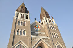 χριστιανική εκκλησία της Στοκ Φωτογραφία