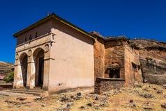 Χριστιανική εκκλησία Atsbeha Abreha σε Tigray, Αιθιοπία στοκ φωτογραφίες με δικαίωμα ελεύθερης χρήσης